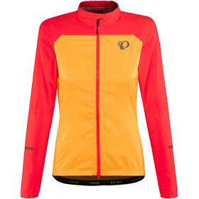PEARL iZUMi Elite Escape Barrier Sykkeljakke Dame Orange/rød